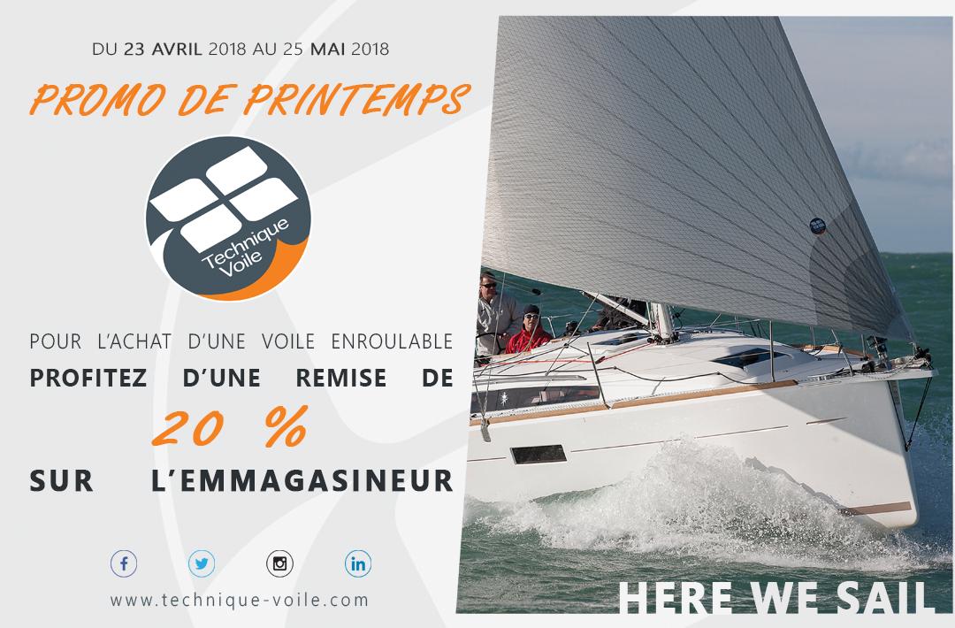 affiche promo PROMO DE PRINTEMPS